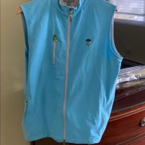 Peter millar full zip wind vest never worn